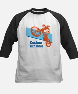 Custom Motocross Bike Design Baseball Jersey