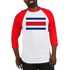 Costarican flag Baseball Jersey