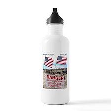Never Forget Brick NJ Danger Water Bottle