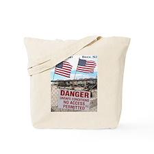 Never Forget Brick NJ Danger Tote Bag