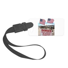 Never Forget Brick NJ Danger Luggage Tag