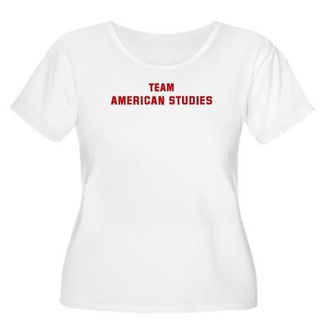 Team AMERICAN STUDIES Women's Plus Size Scoop Neck