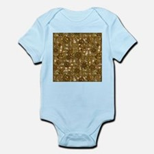 Steampunk Cogs&Pipes-Brass Infant Bodysuit