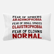 Fear Clowns Pillow Case