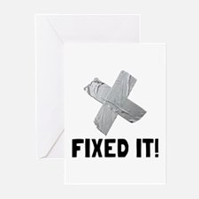 Fixed It Tape Greeting Cards