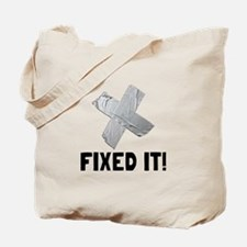 Fixed It Tape Tote Bag