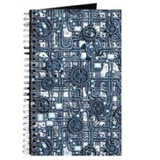 Steampunk Panel - Steel Journal