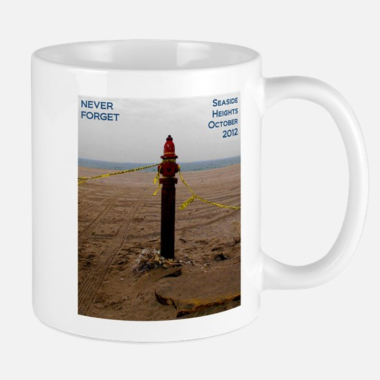 Never Forget Seaside Heights Hydrant Mugs