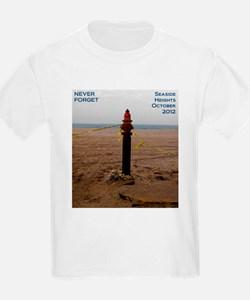 Never Forget Seaside Heights Hydrant T-Shirt