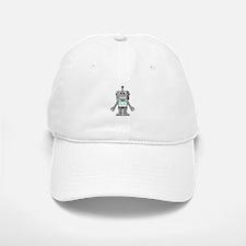 Happy Robot Baseball Baseball Baseball Cap