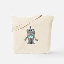 Happy Robot Tote Bag