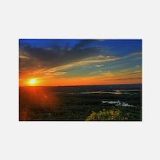 Wonderful Sunset Rectangle Magnet