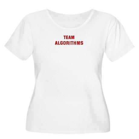 Team ALGORITHMS Women's Plus Size Scoop Neck T-Shi