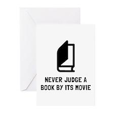 Judge Book Greeting Cards