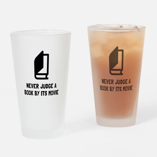 Judge Book Drinking Glass