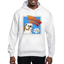 Bulldog Super Hero Hoodie