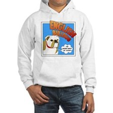 Bulldog Super Hero Jumper Hoodie