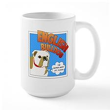 Bulldog Super Hero Mug
