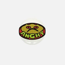 Angry Mini Button