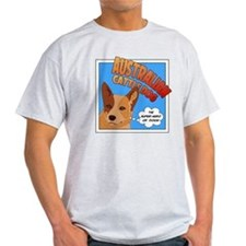 Red Heeler Super Hero T-Shirt