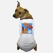 Red Heeler Super Hero Dog T-Shirt