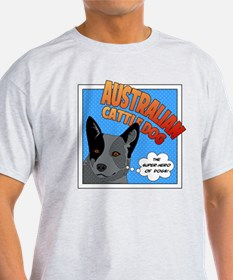 Blue Heeler Super Hero T-Shirt