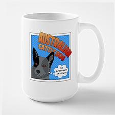 Blue Heeler Super Hero Mug