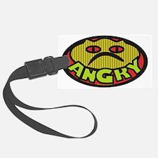 Angry Luggage Tag