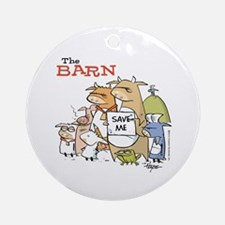 The Barn: The Whole Gang! Ornament (Round)