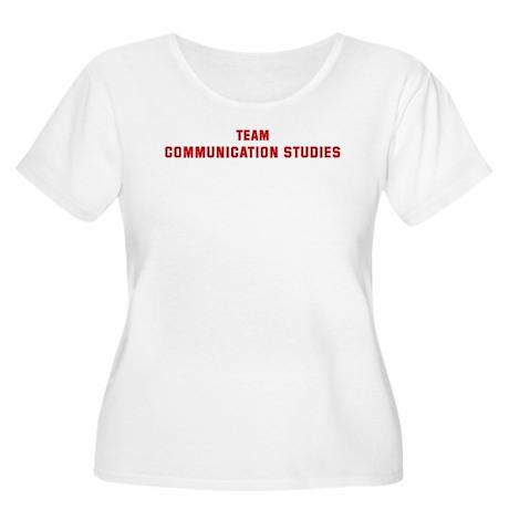 Team COMMUNICATION STUDIES Women's Plus Size Scoop