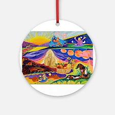 Buddha Natures Ornament (Round)