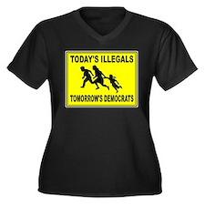 ILLEGAL ALIENS Plus Size T-Shirt