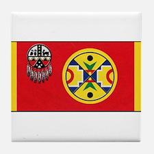 Aroostook Band Micmac Tile Coaster