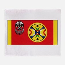 Aroostook Band Micmac Throw Blanket