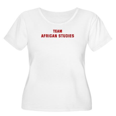 Team AFRICAN STUDIES Women's Plus Size Scoop Neck