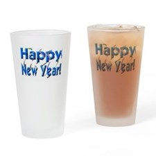 New Years Day Drinking Glass