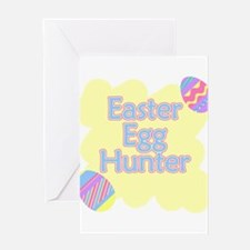 Easter Egg Hunter Greeting Cards
