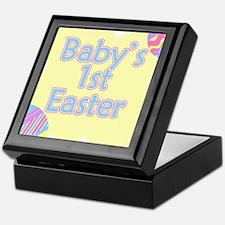 Babys 1st Easter Keepsake Box