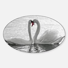 love swans Decal