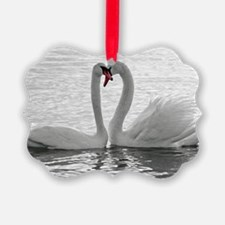 love swans Ornament