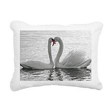 love swans Rectangular Canvas Pillow