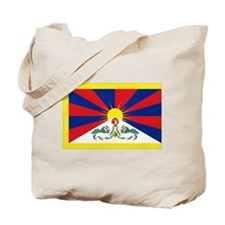 Tibet flag Tote Bag