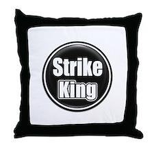 Strike King Throw Pillow