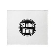Strike King Throw Blanket