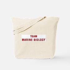 Team MARINE BIOLOGY Tote Bag