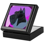 Giant Schnauzer Design Keepsake Box