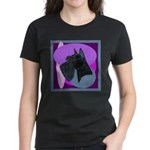 Giant Schnauzer Design Women's Dark T-Shirt