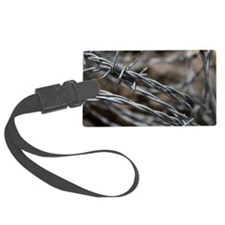 Barbed Wire Luggage Tag