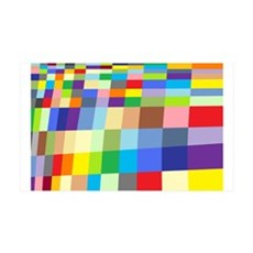 Colorful Squares Wall Decal