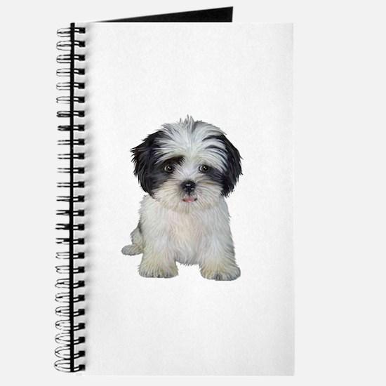 Shih Tzu (bw) pup Journal